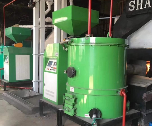 生物质气燃烧机
